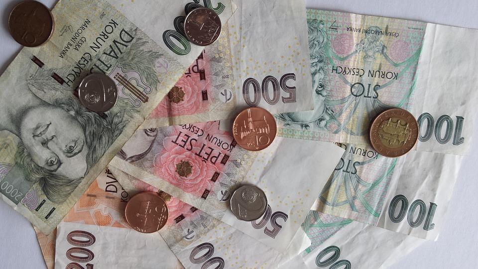 Příjmy a výdaje Čechů za 20 let