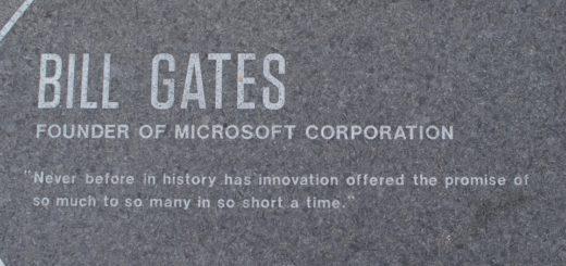 podnikání díky Billu Gatesovi