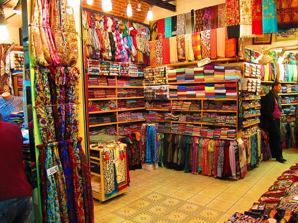 oblečení z bazarů
