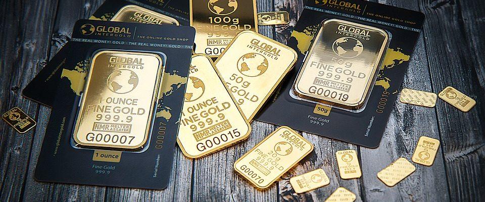 zlato jako komodita