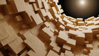 bavlna nebo dřevo