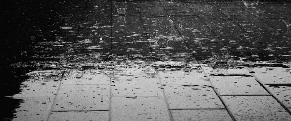 co dělat když prší