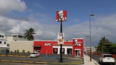 Tématické pobočky KFC