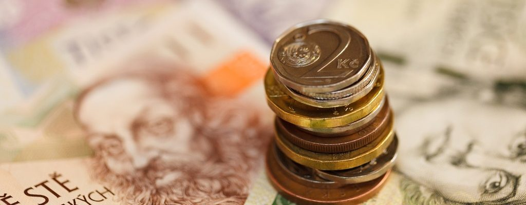 Česká koruna na trhu